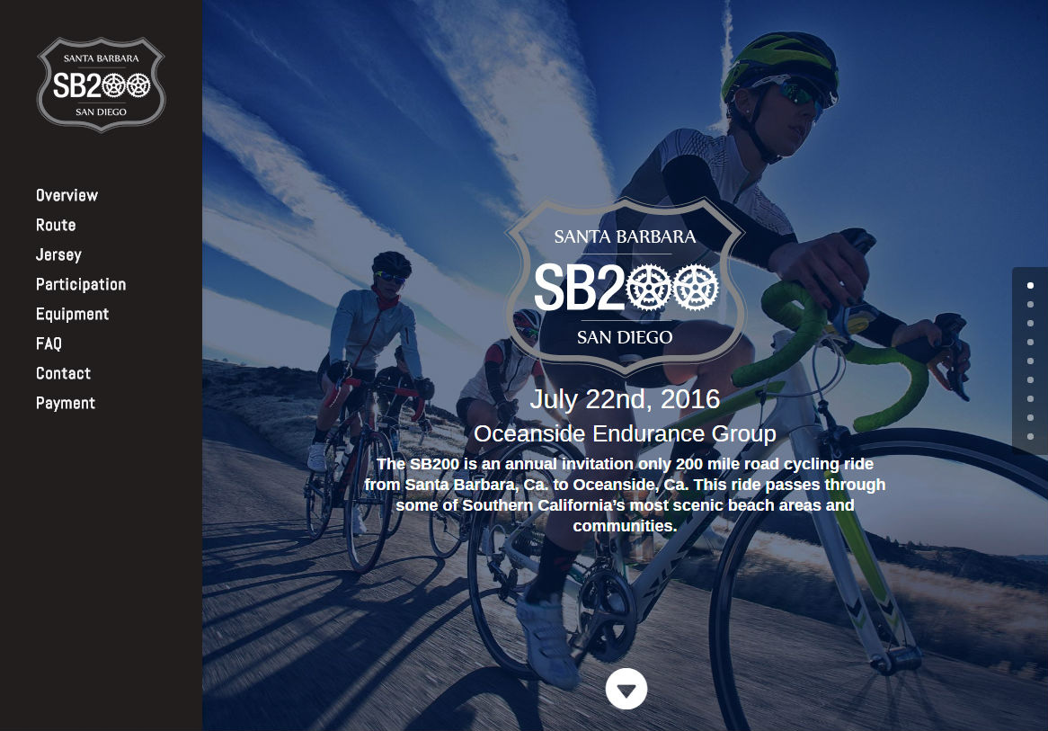 Website Development | SB200 Cycling Team Website
